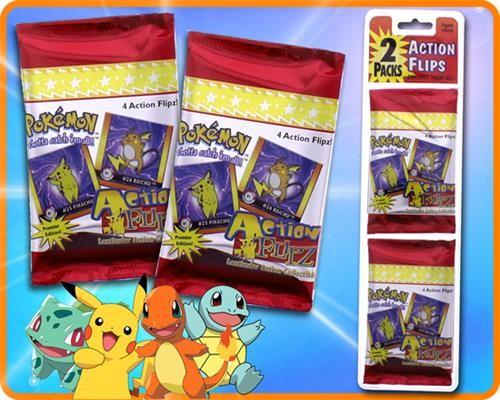 Pokemon Action Flipz Blister ( 2 Packs )