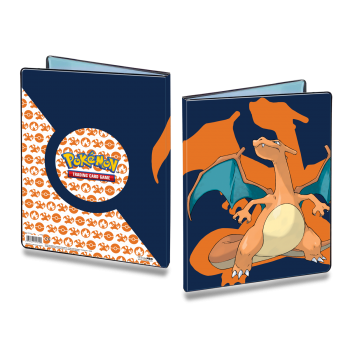 Pokemon Glurak Sammelalbum - 9-Pocket Portfolio