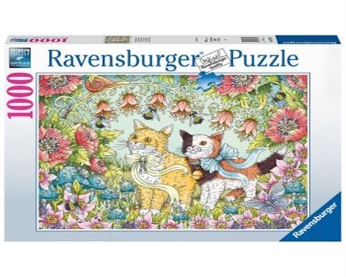 Challenge Puzzle - Kätzchenfreundschaft -Ravensburger - 1000 Teile