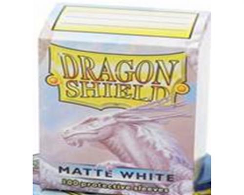 Dragon Shield Standard Sleeves - Matte Weiß (100)