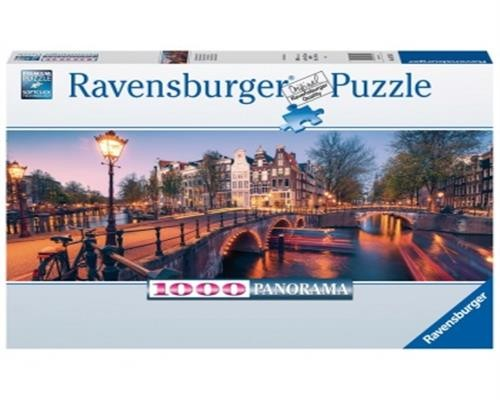 Ravensburger Puzzle - Abend in Amsterdam 1000 Teile
