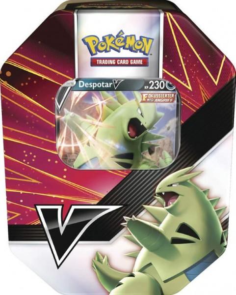 Pokemon Despotar V Tin Box - Deutsch