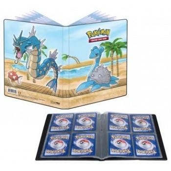 Pokemon Sammelalbum Seaside - Garados, Kapador, Lapras 4er Pocket (bis 80 Karten )