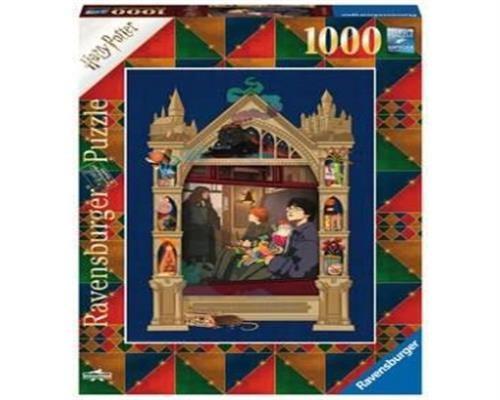 Ravensburger Puzzle - Harry Potter Weg auf dem Weg nach Hogwarts 1000 Teile