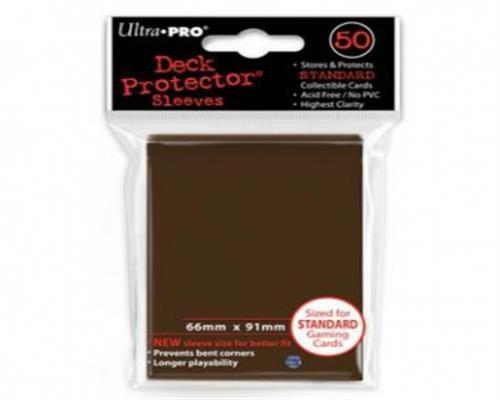 Ultra Pro Kartenhüllen - Standardgröße (50) -Braun
