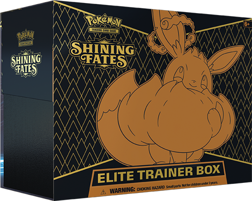 Shining Fates Top Trainer Box - Englisch