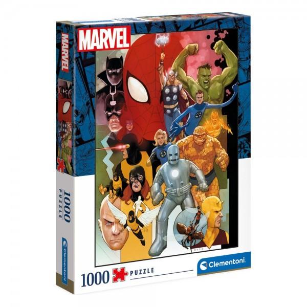 Marvel Comics Phil Noto Puzzle 1000 Teile - Clementoni