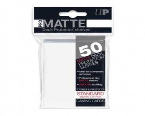 Ultra Pro Kartenhüllen - Standardgröße reflexionsfrei (50) - Weiß