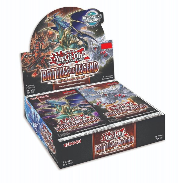 Battles of Legend: Armageddon Display -Englisch