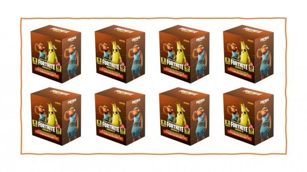 Panini Fortnite Serie 2 - 1x Case ( 8 ) Mega Blaster Box