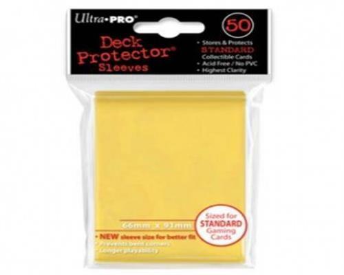Ultra Pro Kartenhüllen - Standardgröße (50) -Gelb