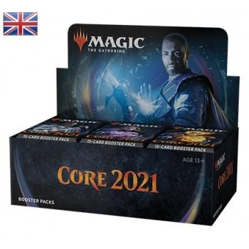 Magic Hauptset 2021 Booster Display ( Englisch )
