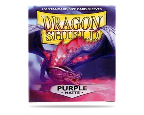 Dragon Shield Standard Sleeves - Matte Purple (100)