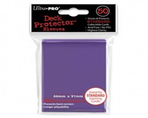 Ultra Pro Kartenhüllen - Standardgröße (50) -Lila