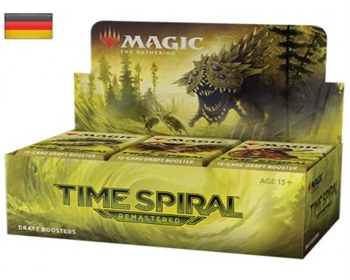 Time Spiral Remastered Draft Booster Display (36 Packs) -Deutsch