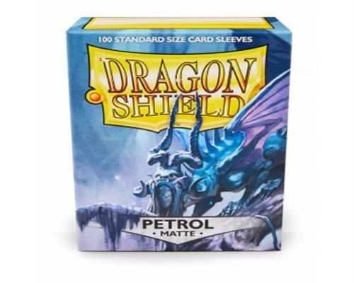 Dragon Shield Standard Sleeves - Matte Petrol(100)