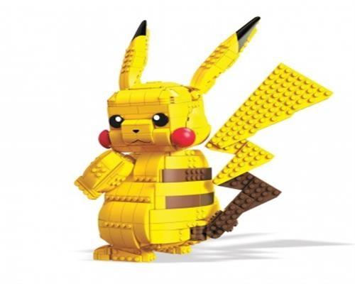 Mega Construx Pokemon Pikachu Jumbo