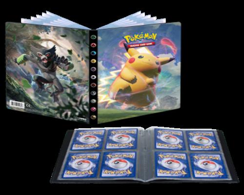 Pokemon Sammelalbum Farbenschock 4er Pocket