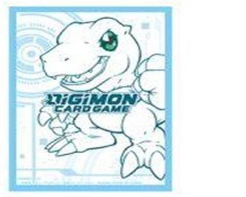 Digimon TCG 60 Card Sleeves Agumon