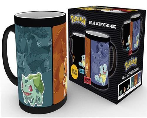 Pokemon Tasse mit Thermoeffekt Catch Em All