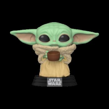 Funko- Star Wars: Mandalorian - The Child w/cup