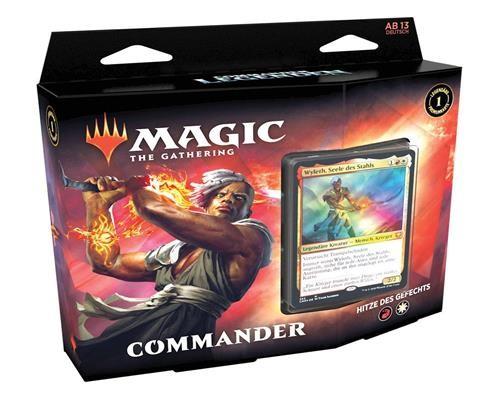 Hitze des Gefechtes Commander Legends - Commander Decks - -Englisch