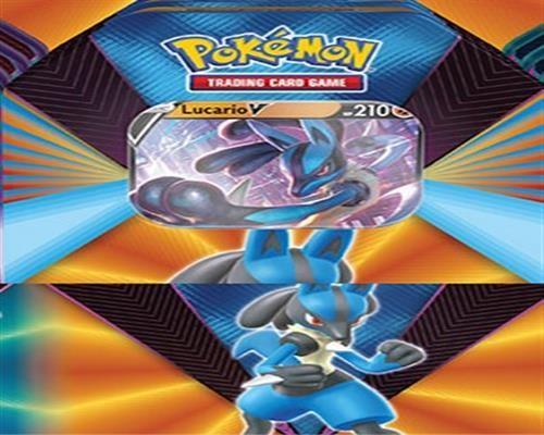 Pokemon Lucario V Tin Box - Englisch