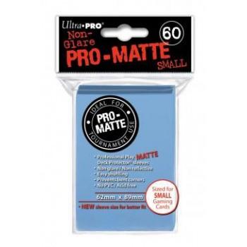 3 x Ultra Pro Hüllen Hellblau Matt (60) Japan Size