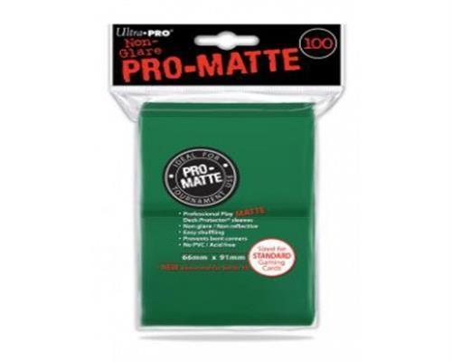 Ultra Pro Kartenhüllen - Standardgröße reflexionsfrei (100) - Grün