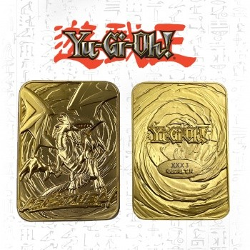 Limited Edition 24K Gold Metal Blue Eyes White Dragon