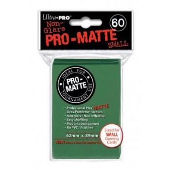3 x Ultra Pro Hüllen Grün Matt (60) Japan Size