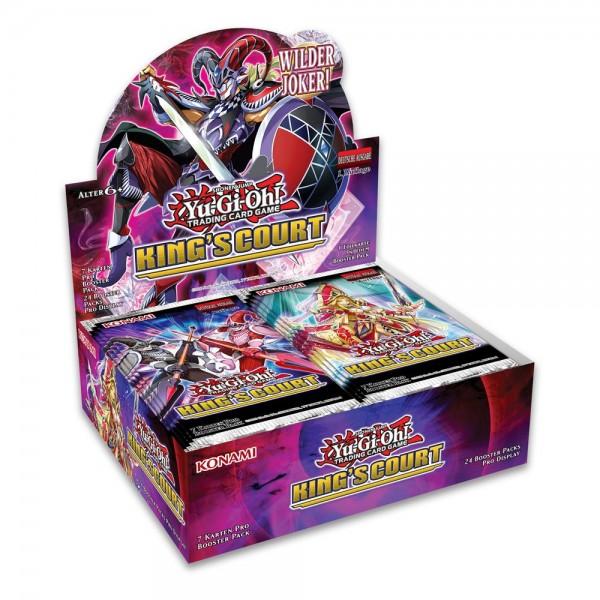 Kings Court Booster-Display 1. Auflage deutsch