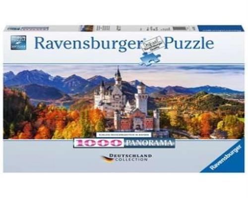 Ravensburger Puzzle - Schloss Neuschwanstein in Bayern 1000 Teile
