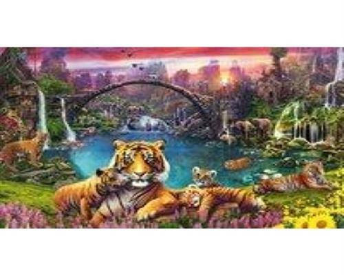Ravensburger Puzzle - Tiger in paradiesischer Lagune 3000 Teile