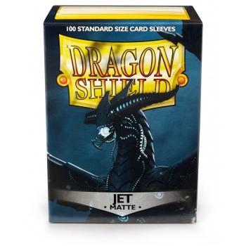 Dragon Shield Standard Sleeves - Matte Jet (100)