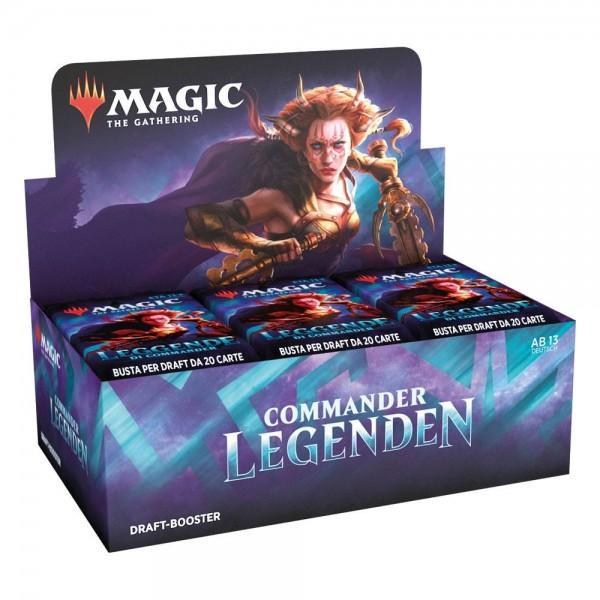 Commander Legends - Darft Booster Display - Deutsch