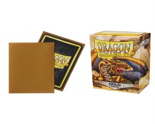 Dragon Shield Standard Sleeves - Matte Gold(100)