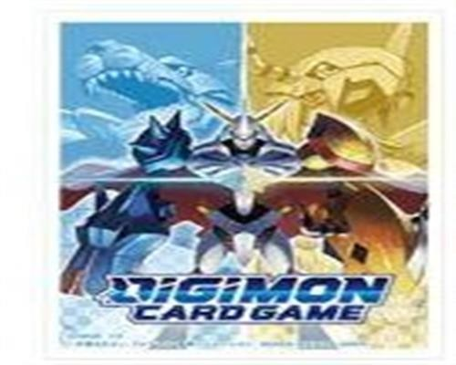 Digimon TCG 60 Card Sleeves Omnimon