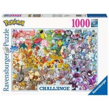Pokemon Challenge - 1000 Stück - Puzzel