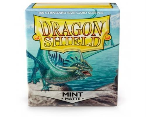 Dragon Shield Standard Sleeves - Matte Mint (100)