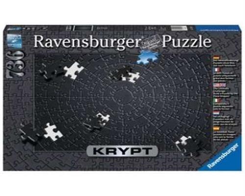 Ravensburger Puzzle - Krypt Black - 736 Teile