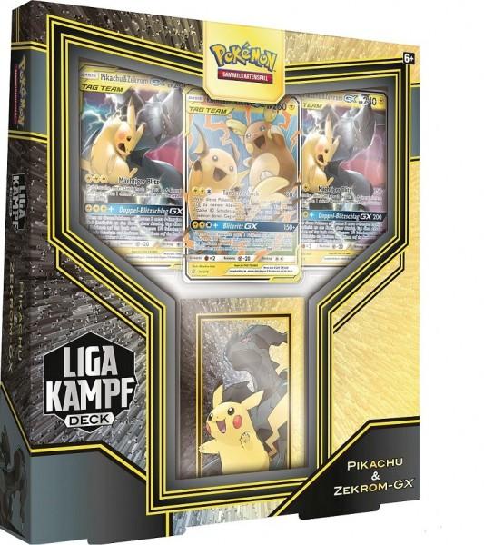 Liga-Kampfdecks Pikachu & Zekrom-GX -Deutsch
