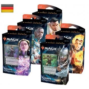 Magic Hauptset 2021 - Planeswalker Deck Set ( 5 Decks ) - Deutsch-