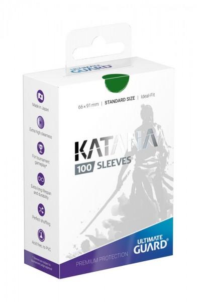 Katana Sleeves Standardgröße Grün(100)
