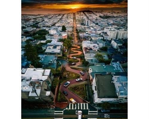 Ravensburger Puzzle - San Francisco Lombard Street 1000 Teile