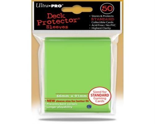 Ultra Pro Kartenhüllen - Standardgröße (50) -Lime Green