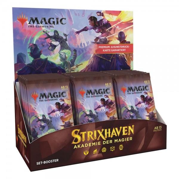 Strixhaven: Akademie der Magier -Set Display -Deutsch