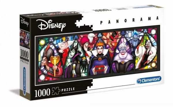 Disney Puzzle Bösewichte1000 Teile - Clementoni