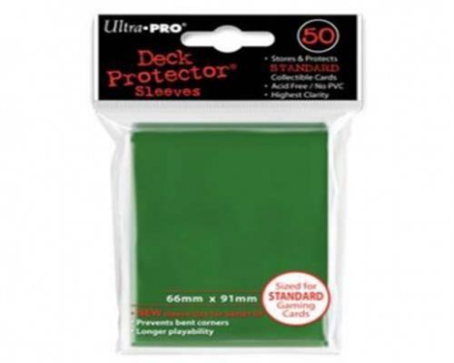 Ultra Pro Kartenhüllen - Standardgröße (50) -Grün