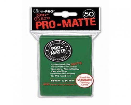 Ultra Pro Kartenhüllen - Standardgröße reflexionsfrei (50) - Grün